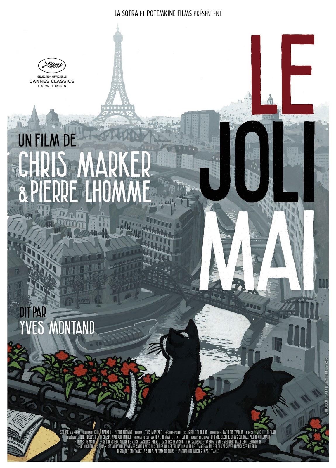 Póster promocional de Le Joli Mai