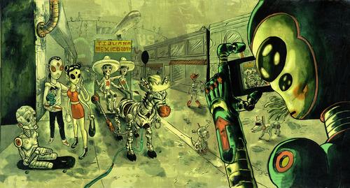 Revolutiona Avenue Tijuana