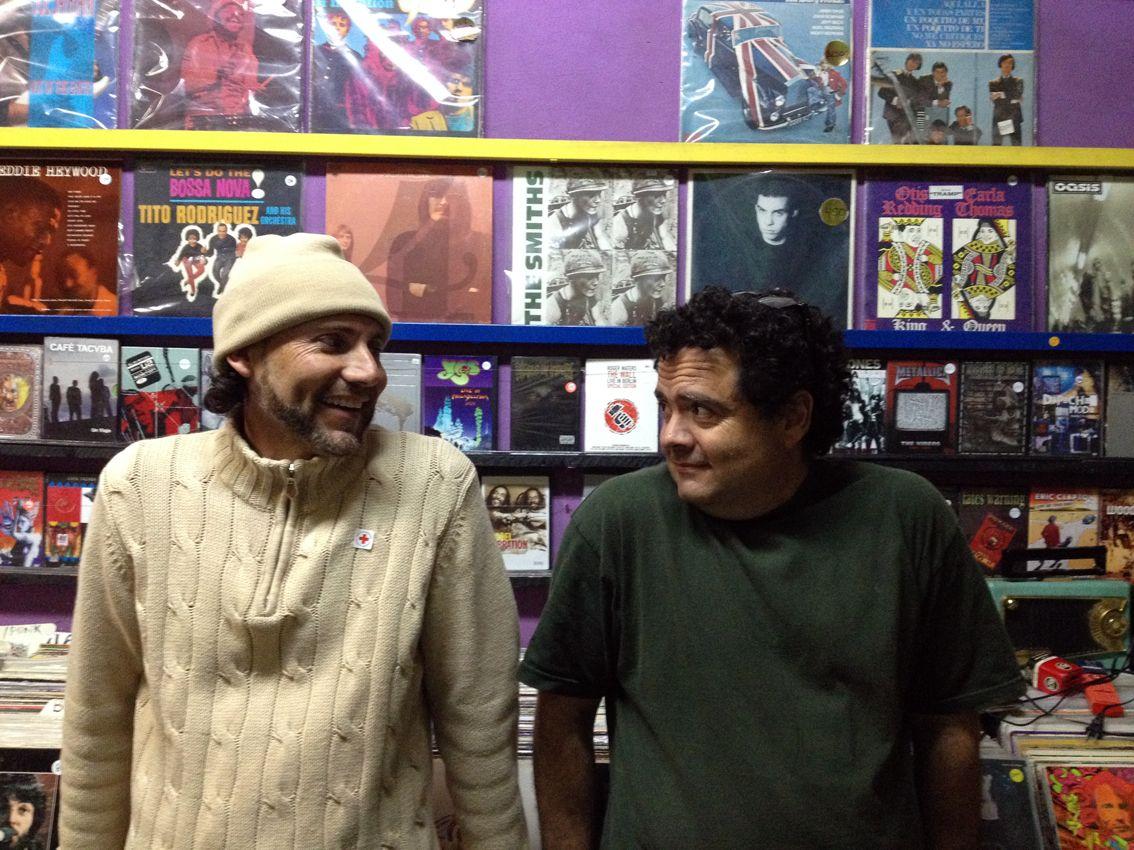 Cipriano Carrasco y Sergio Torres, fotografía de Amaranta Caballero Prado.