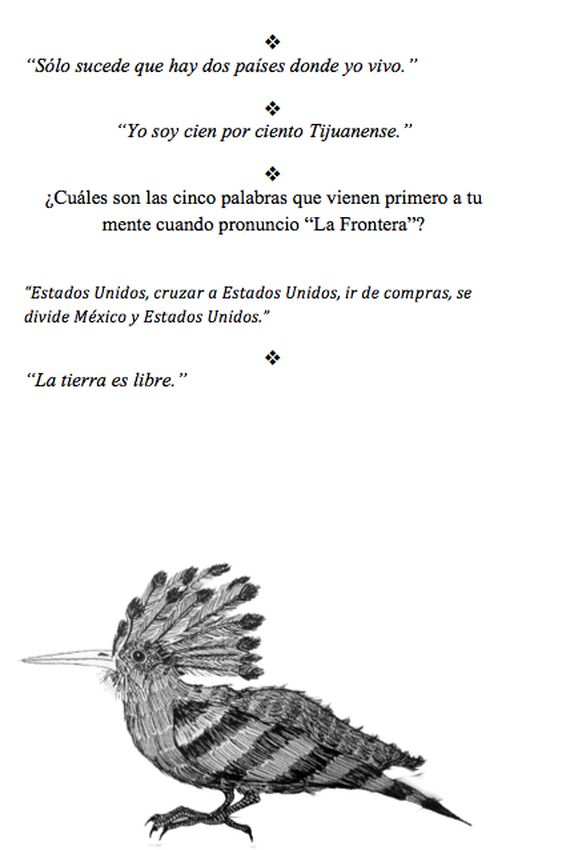 Voces anónimas por Amaranta Caballero.