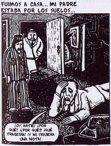 """""""Prisionero en el Planeta Infierno. Un caso clínico"""" de Art Spiegelman."""
