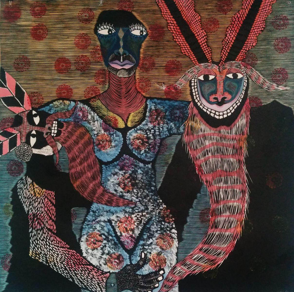 Fotografía por Nidia Rosales, exposición en la CANACO de Oaxaca.