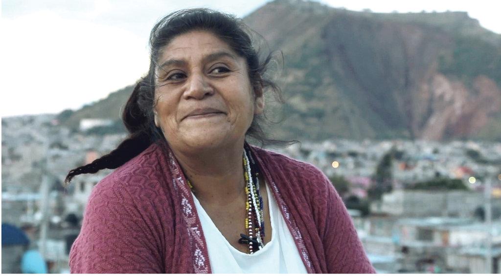 Doña Cristina González, pionera y marchanta de Yuguelito.