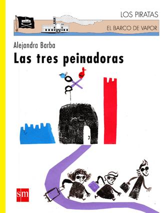 Portada de Las tres peinadoras, por Alejandra Barba