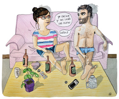 Ilustración de Marcelilla Pilla