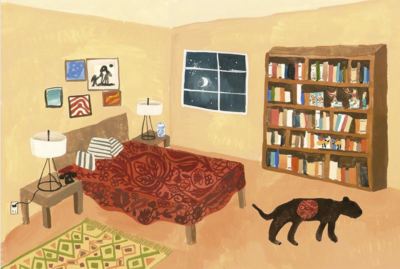 Ilustración de Inés de Antuñano (Ciudad de México, 1982)
