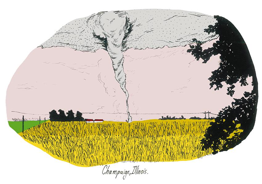Ilustración de Liz Mevill (Morelos, 1985).