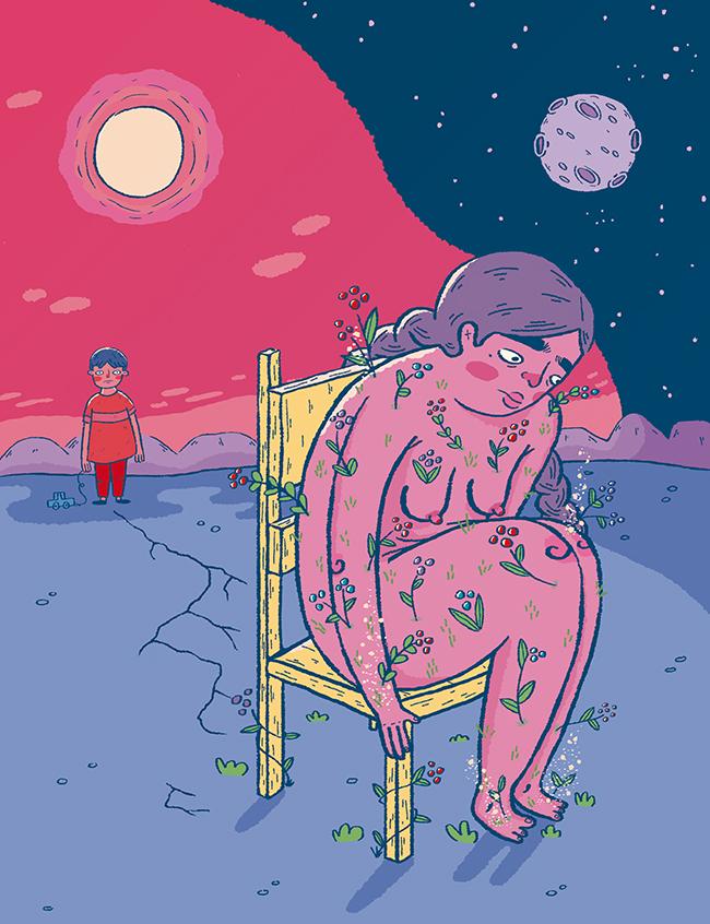 Ilustración de Daniela Ladancé (Chihuahua, 1989).