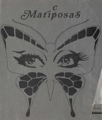 Programa de mano de Mariposas/Maricosas, 1984