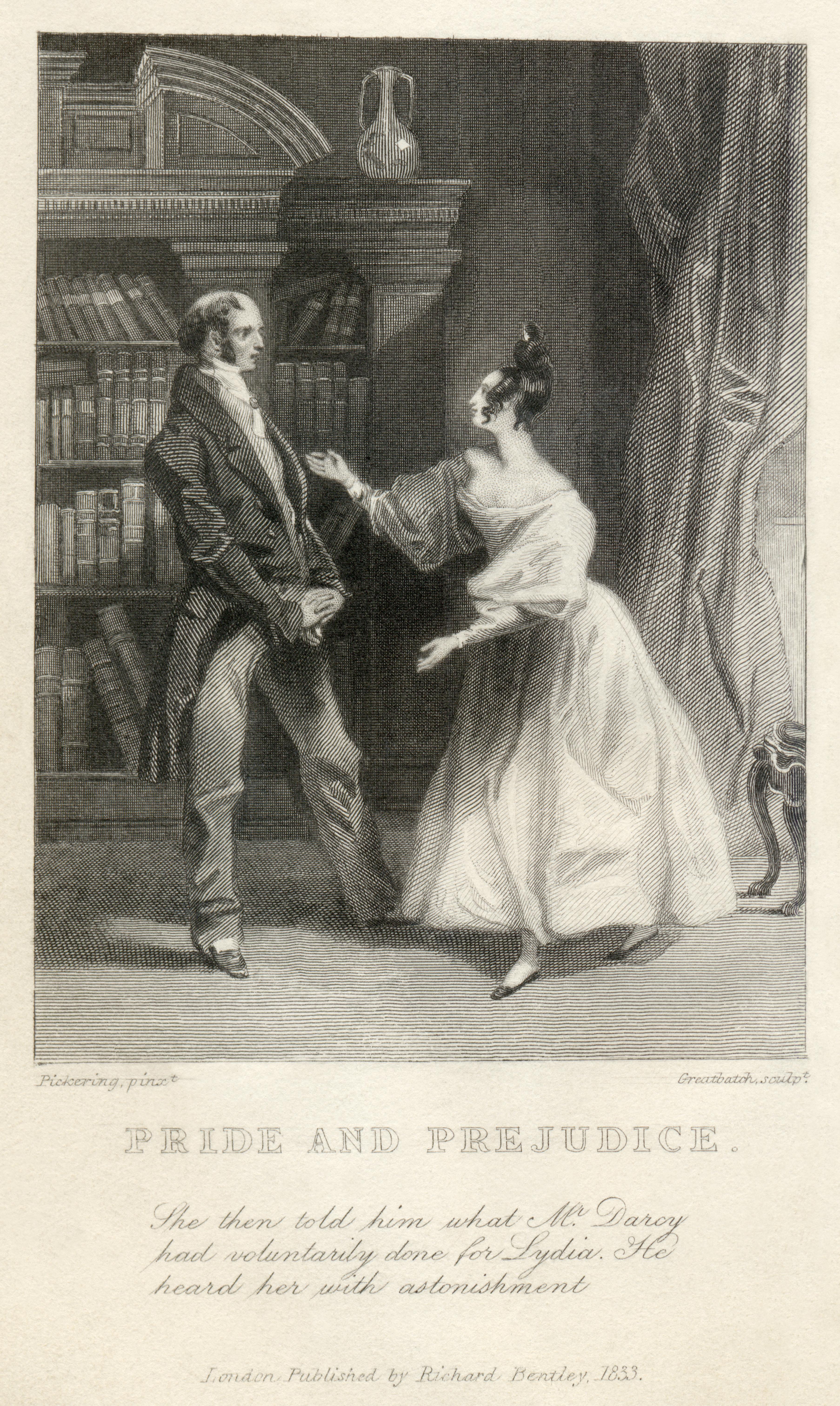 Pickering & Greatbach - <em>Pride and Prejudice</em>, a novel by Jane Austen