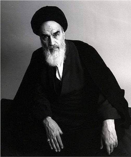 Roollah Jomeini, autor desconocido