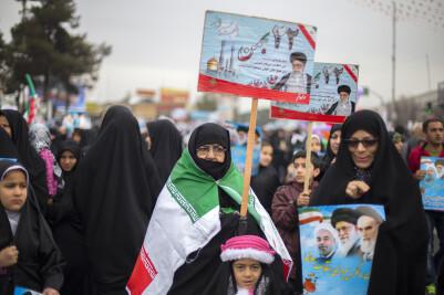 مراسم روز 22 بهمن در ایران