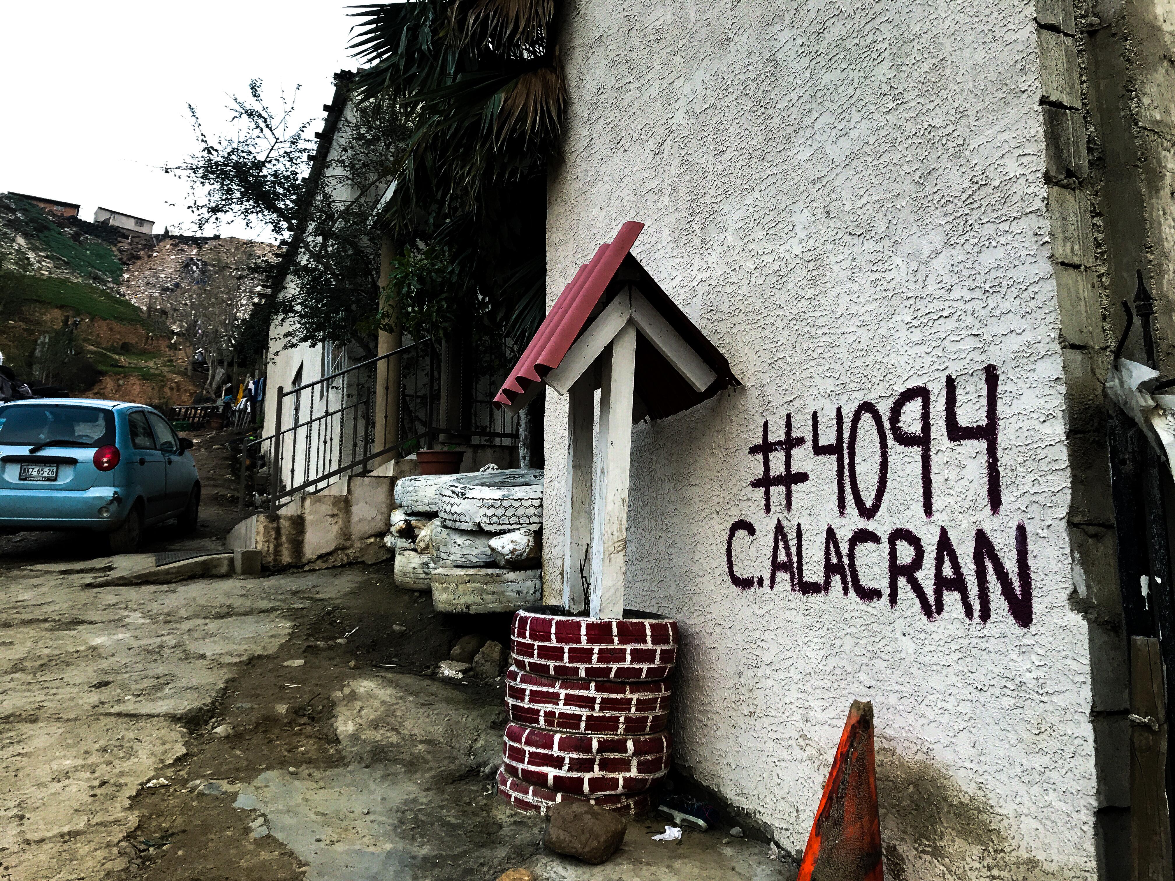 Desde el 2016, ésta es la dirección a donde llegan muchos migrantes en busca de ayuda. Fotografía por Flor Cervantes.