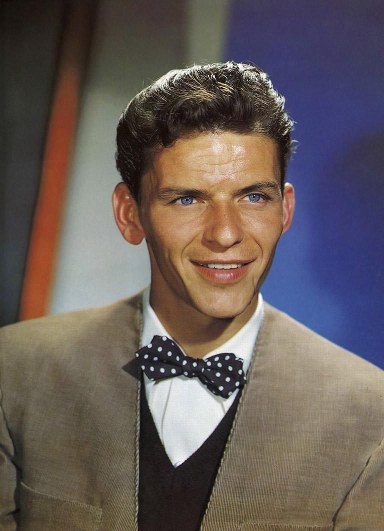 Frank Sinatra 1945 - Fotografía por Ted Allan.