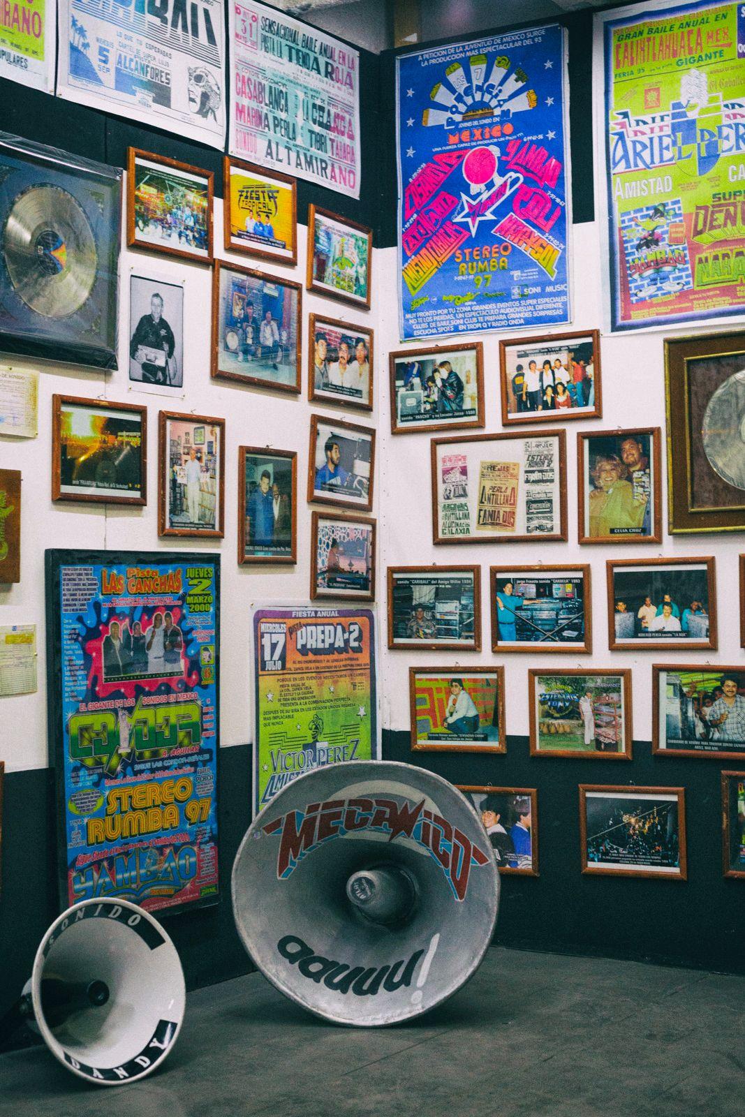 La galería de Discos Medellín. Irving Cabello.