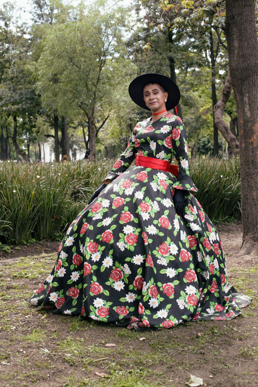 Irving Cabello. Marcha LGBT+ 2019 en Ciudad de México.