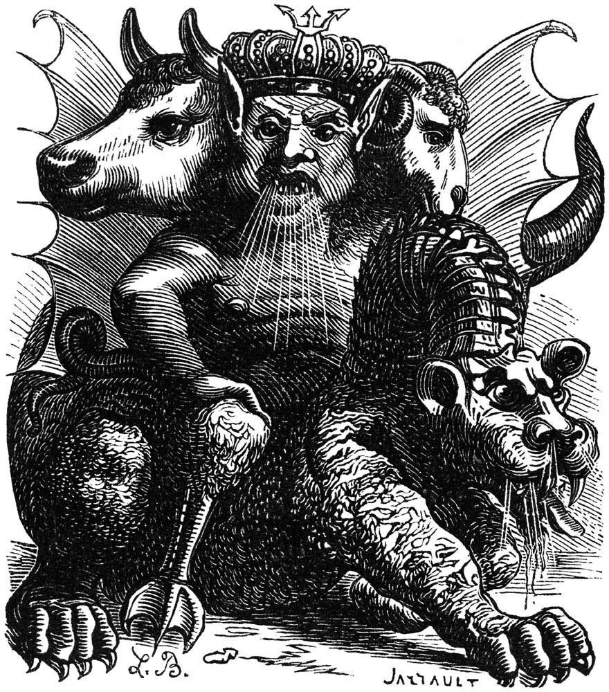 Ilustración de Louis Le Breton, 1863.