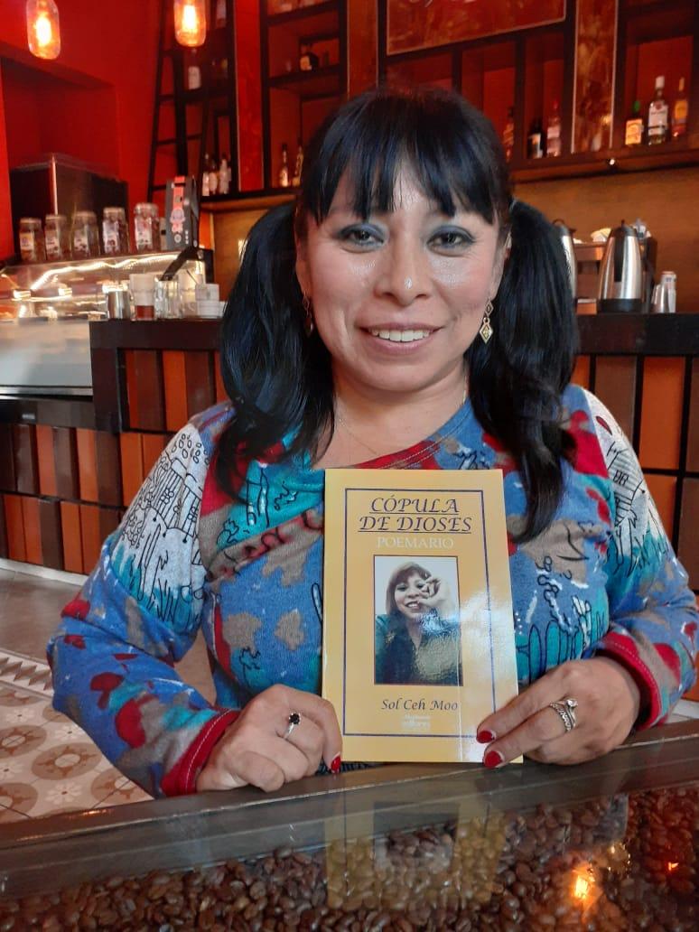 Sol Ceh Moo, ganadora el Premio de Literaturas Indígenas de América