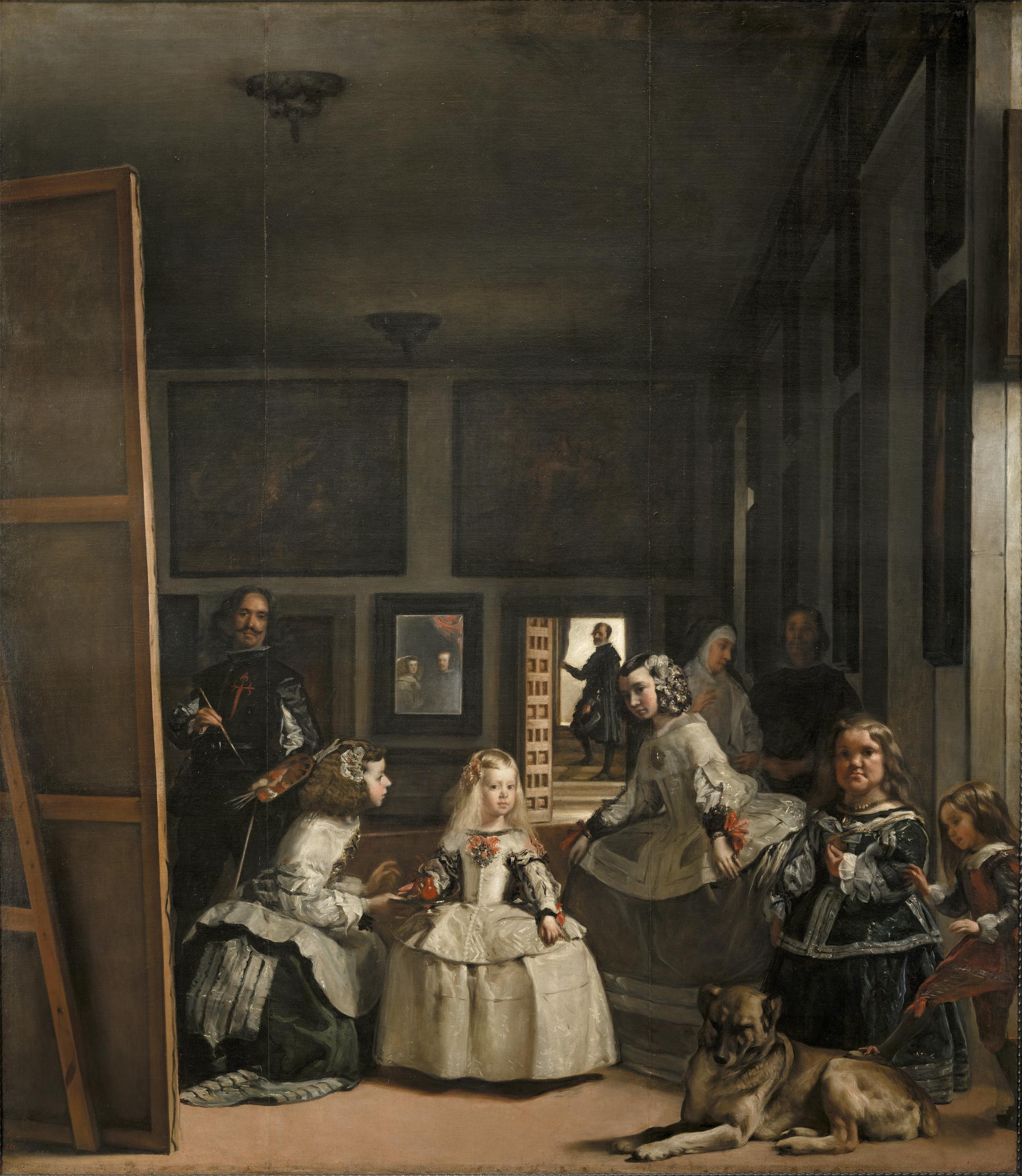 Las meninas o La familia de Felipe IV, Diego Velázquez, 1656