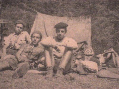 Jorge Ibargüengoitia y Manuel Felguérez. Foto: Secretaría de Cultura.