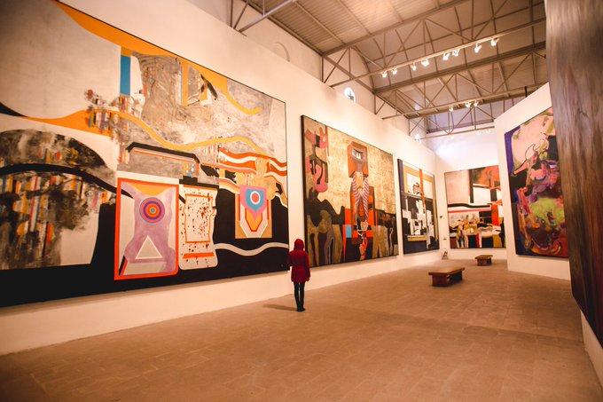 Museo de Arte Abstracto Manuel Felguérez. Foto: Secretaría de Cultura.