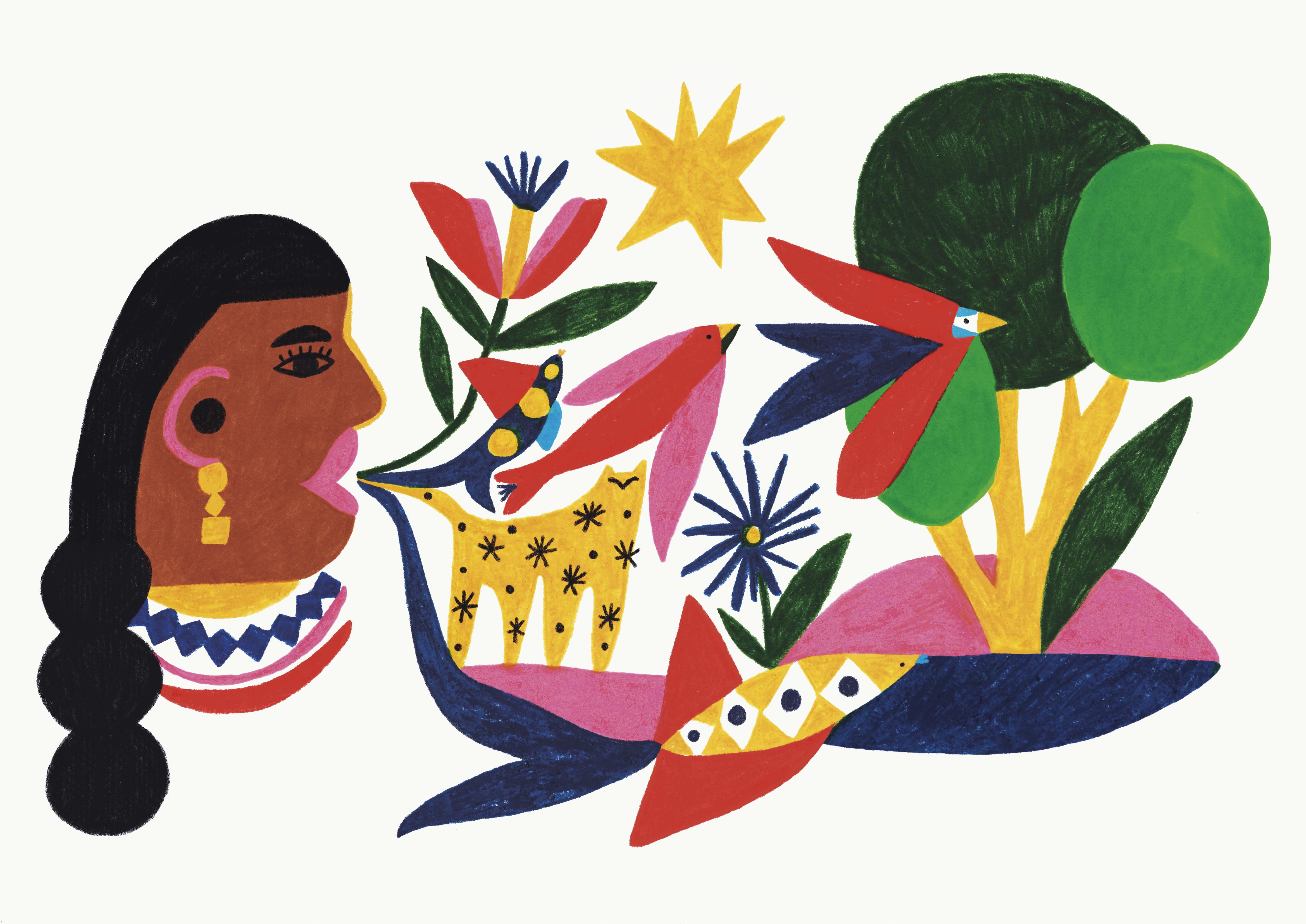 Ilustración por Caro Monterrubio.