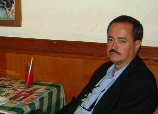 Enrique Servín. Foto de Noel René Cisneros.