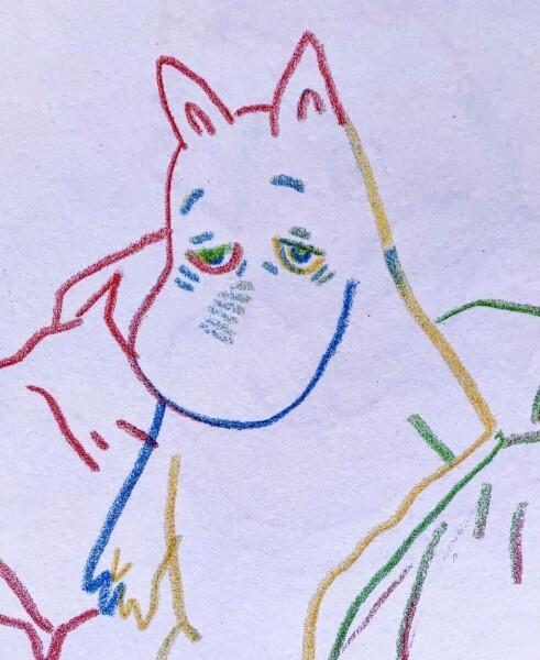 Alaíde Ixchel, Tired Moominpappa, 2020