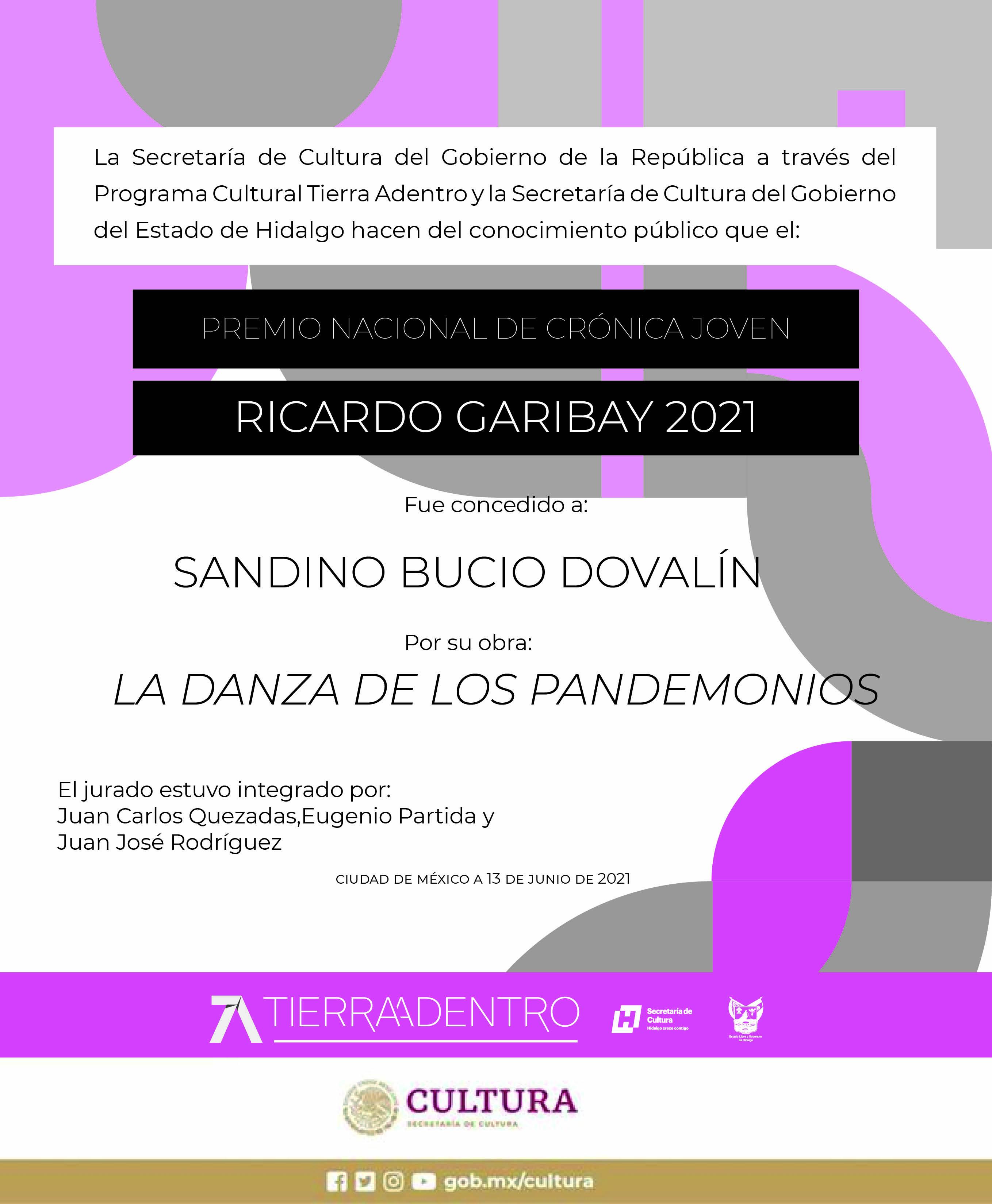 Ricardo Garibay 2021